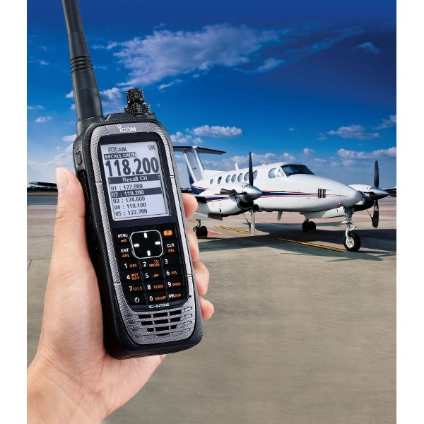 ICOM Portatif VHF Aviation 8.33kHz IC-A25NE
