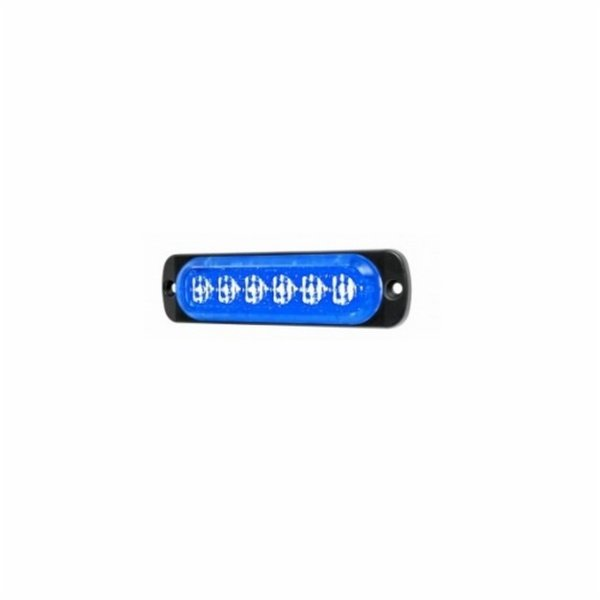 MERCURA Feu LED L52 bleu horizontal 27656