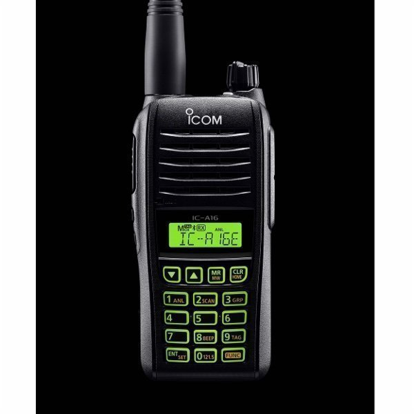 ICOM Portatif VHF Aviation IC-A16E-22